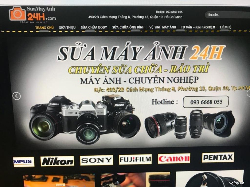 Dịch vụ sửa chửa máy ảnh, máy quay Ngọc Lâm