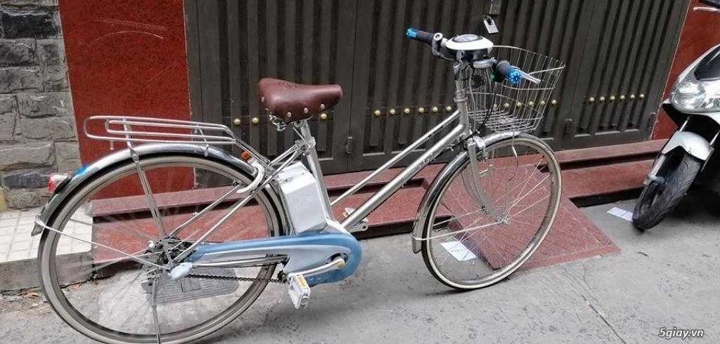 xe đạp điện hàng Nhật giá rẽ : sanyo , yamaha ,Bridgestone ,Hydee - 1