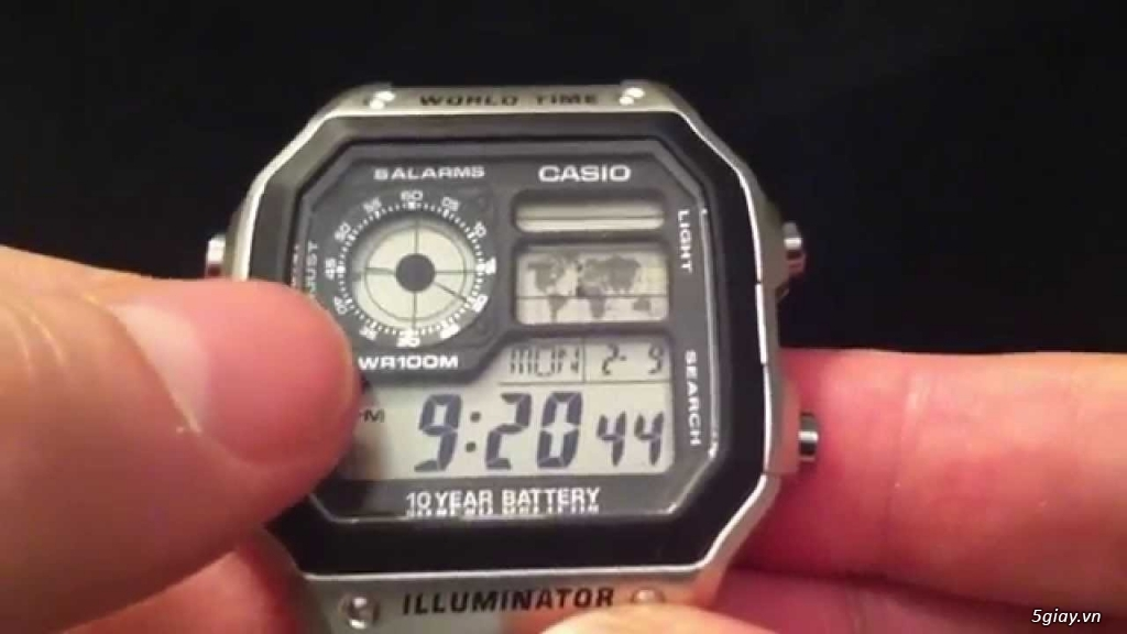 Đồng hồ chính hãng của Mỹ dư xài máy pin Quazt , máy tự động Automatic - 25