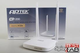Bộ phát WiFi APTEK A122e chuẩn AC - 1