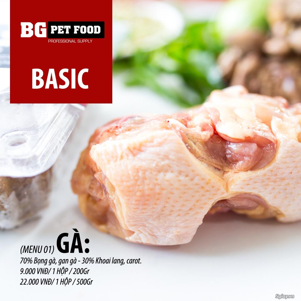 THỨC ĂN TƯƠI CHO CHÓ - MÈO - CÁO BG PET FOOD - 7