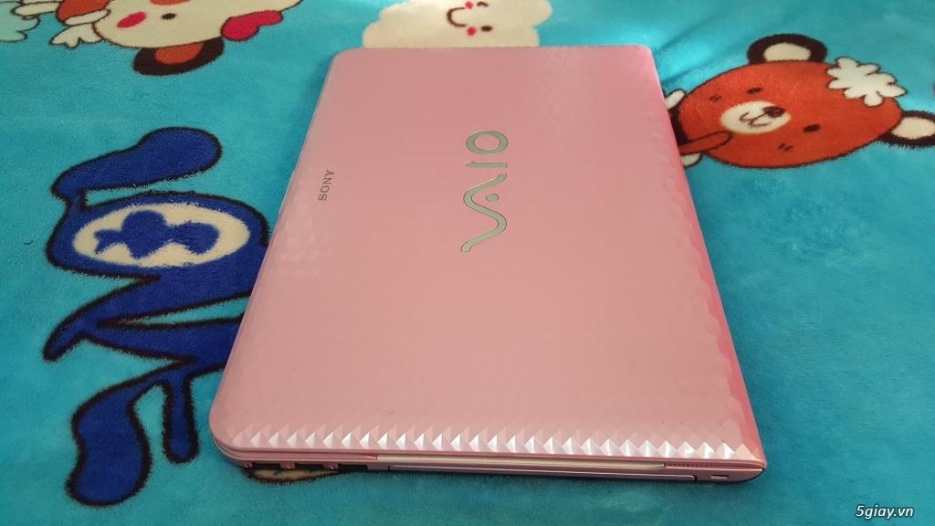 VAIO VPCEG37FM+i5 2450m+r.4G+hdd 320G+đẹp 99%+màu hồng - 3
