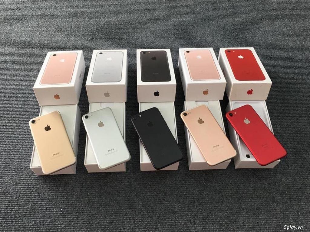 iPhone 7 nhỏ 32gb & 128GB  ĐỦ  MÀU phiên Bản QUỐC TẾ