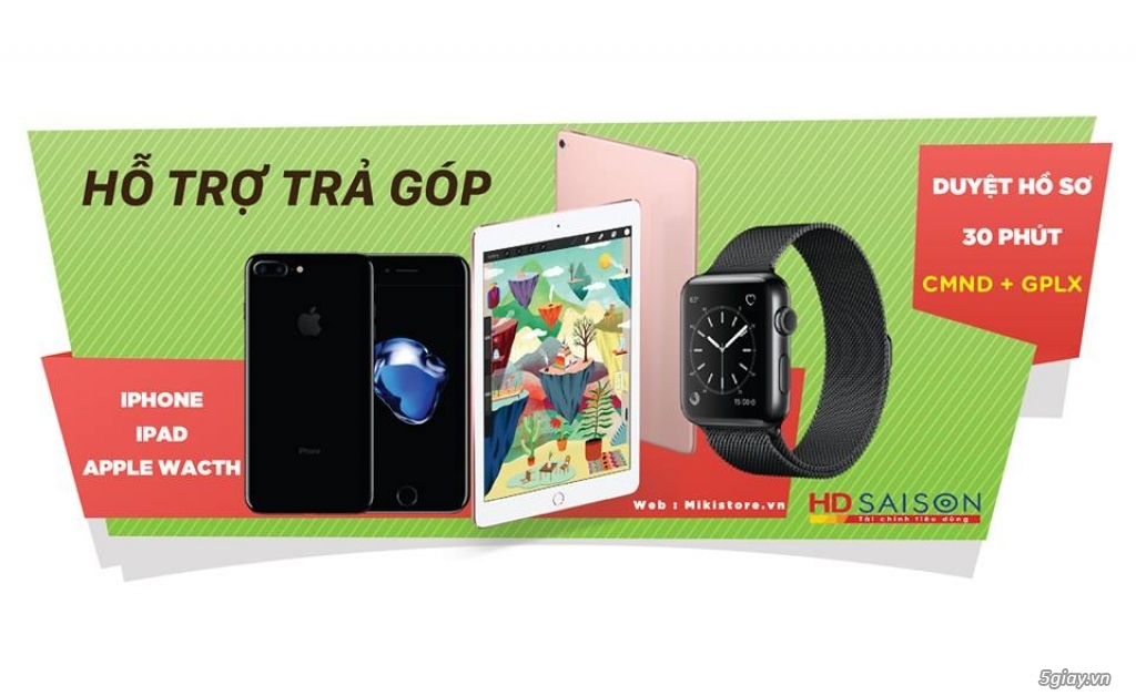 Chuyên Trao Đổi - Mua Bán Các Dòng iPhone, iPad, Apple Watch (NEW & USED, TBH) Cập Nhật Hằng Ngày - 2