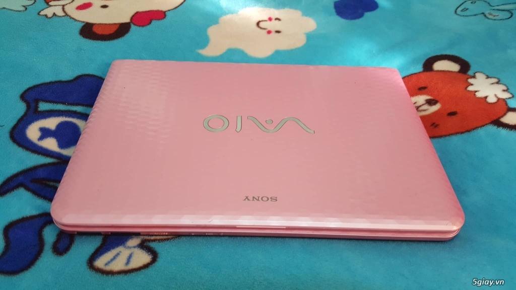 VAIO VPCEG37FM+i5 2450m+r.4G+hdd 320G+đẹp 99%+màu hồng - 4