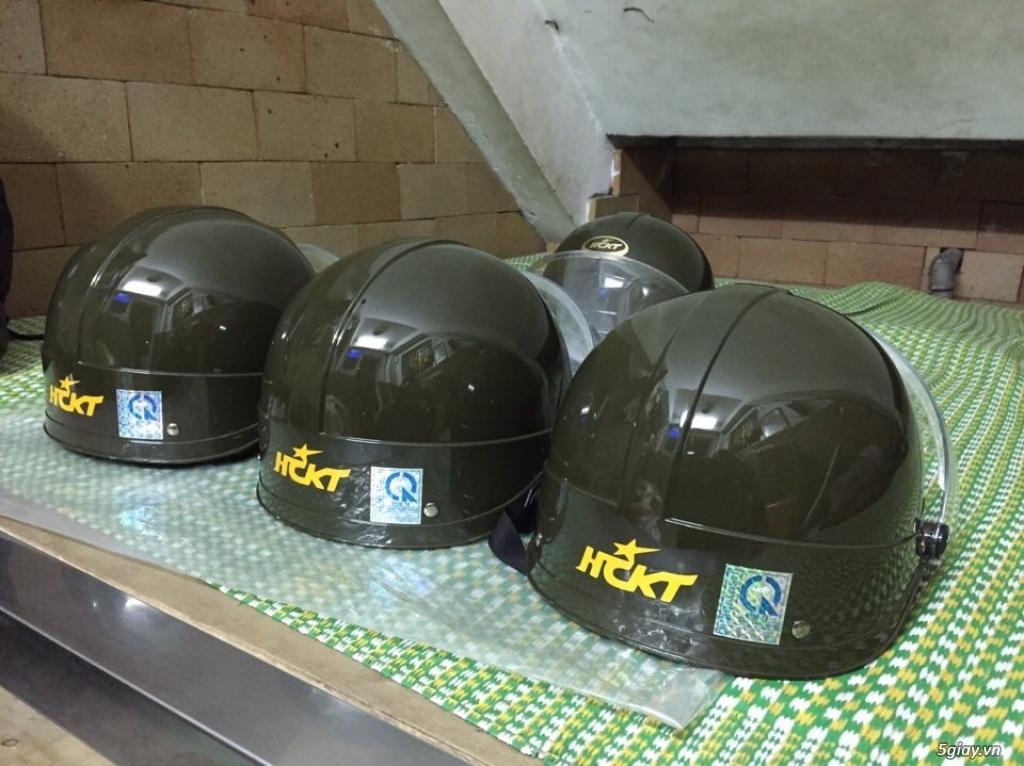 Nón bảo hiểm HCKT an toàn cho người sử dụng