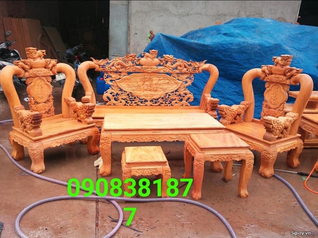 salon phòng khách gỗ quý giá cực rẻ ( xem hàng tại xưởng ) - 6