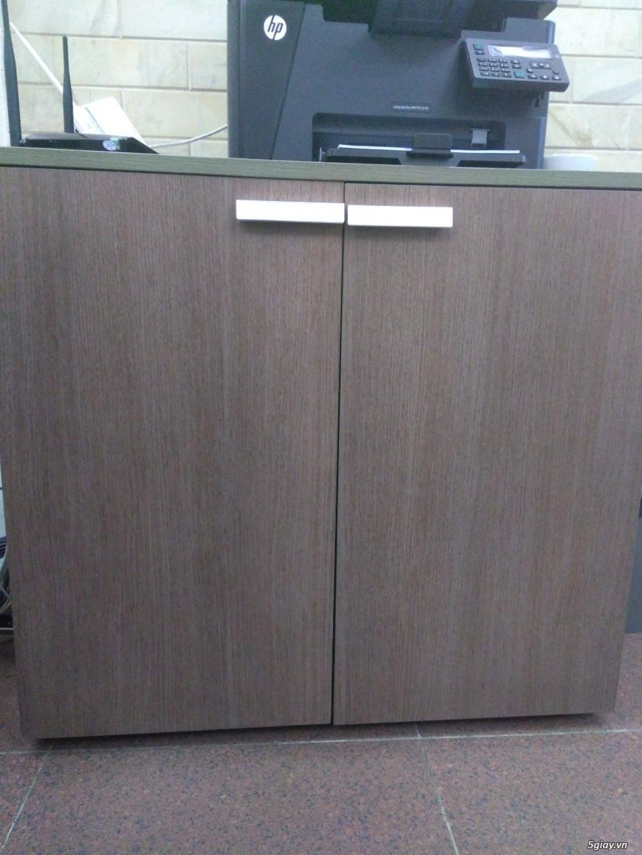 Cần Bán: bộ bàn, tủ văn phòng