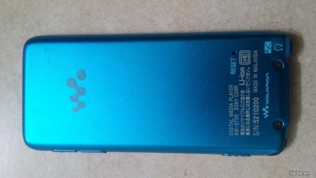 Bán máy Mp3 Sony Nw-s755 nội địa Nhật, 16g. - 1