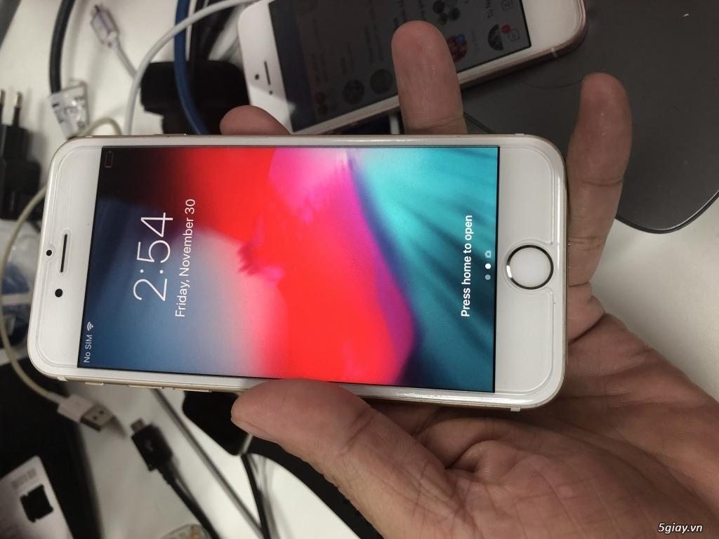 Iphone 6 gold 64G 98% zin nguyên cây quốc tế full chưc năng - 3