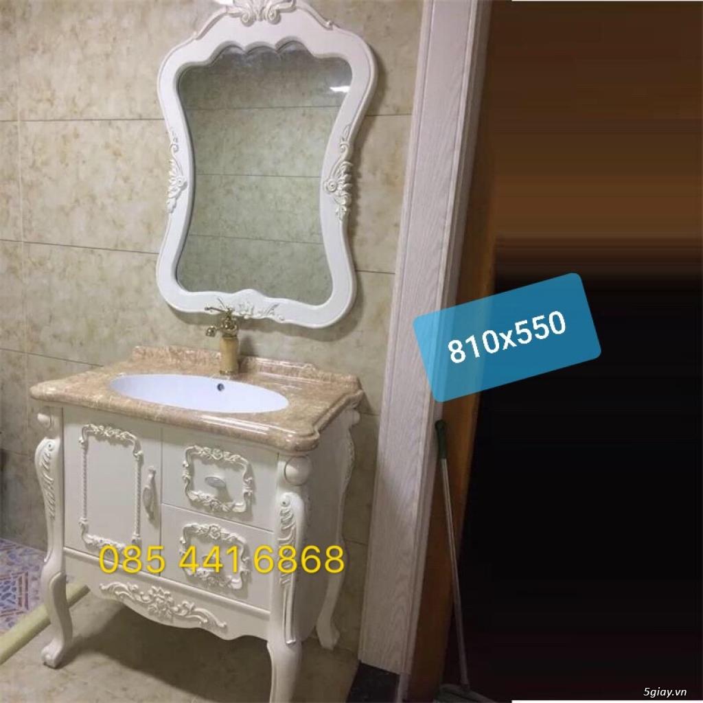 Bán tủ chậu lavabo tân cổ điển, hiện đại, tủ chậu mặt đá phòng tắm - 36