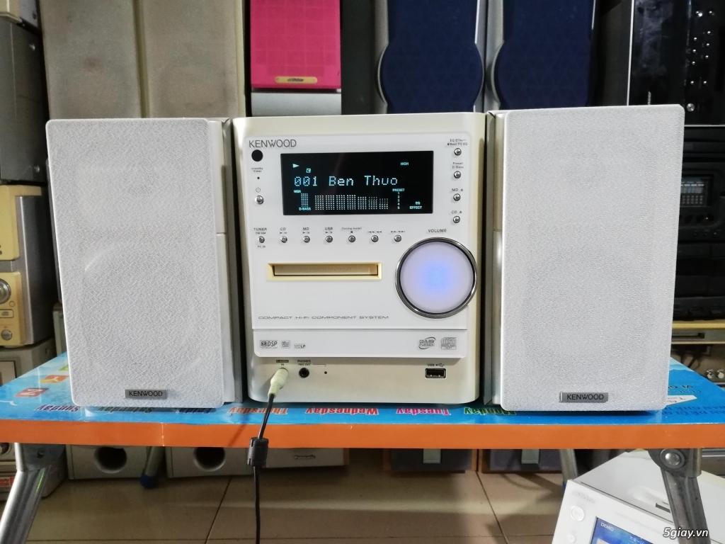 Dàn mini Kenwood L100 nghe nhạc USB - 3