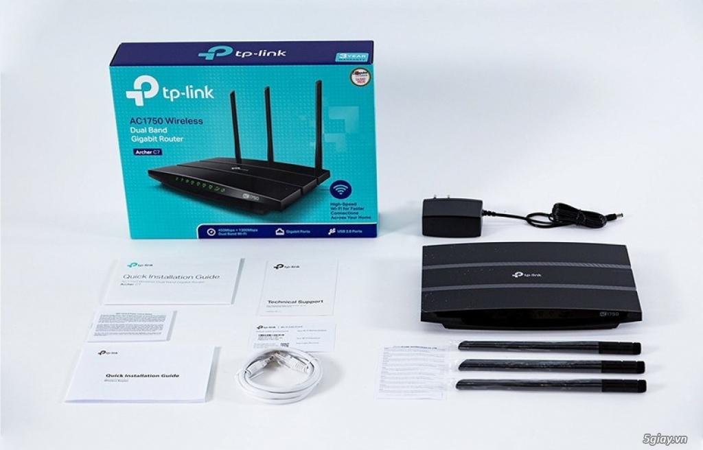 Router TP-Link C9 còn BH lâu. Cáp mạng AMP chính hãng thanh lý. - 1
