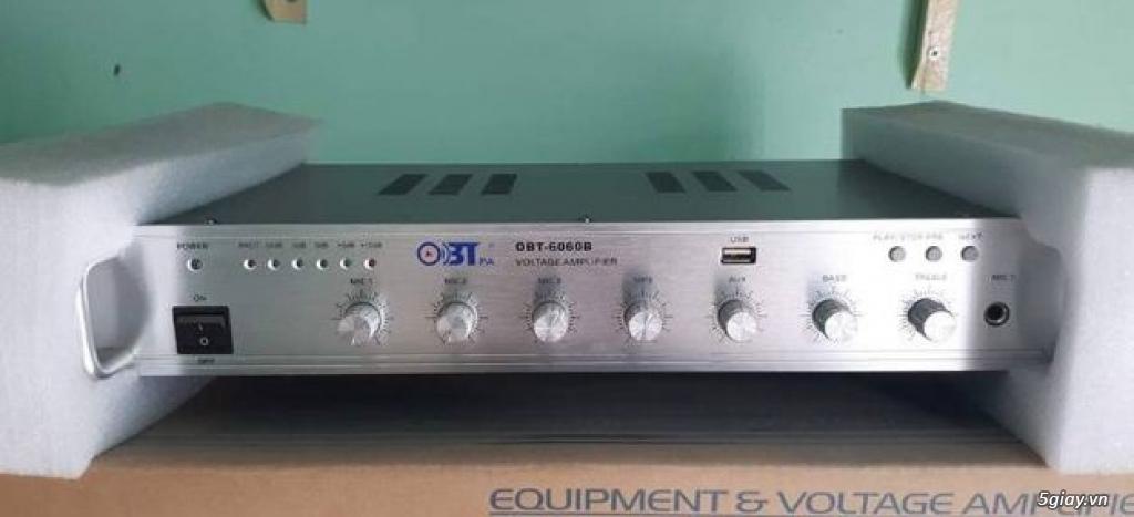 Amply OBT 6060B-Amply Liền Mixer-Giá Tốt - 1