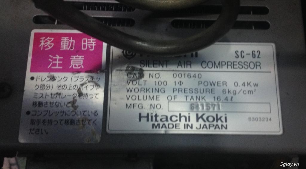 Máy nén khí mini dân dụng xuất xứ Nhật - 26