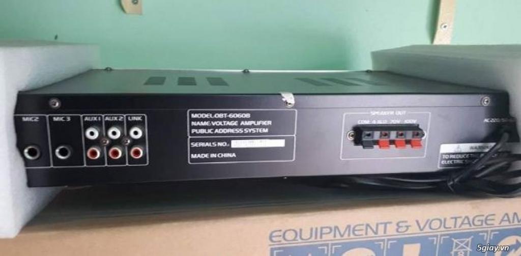 Amply OBT 6060B-Amply Liền Mixer-Giá Tốt - 2