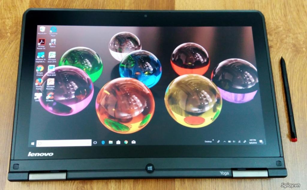 Lenovo Yoga S1 Cảm ứng xoay: i5/4200u/8gb ram/128ssd hàng Usa likenew - 4