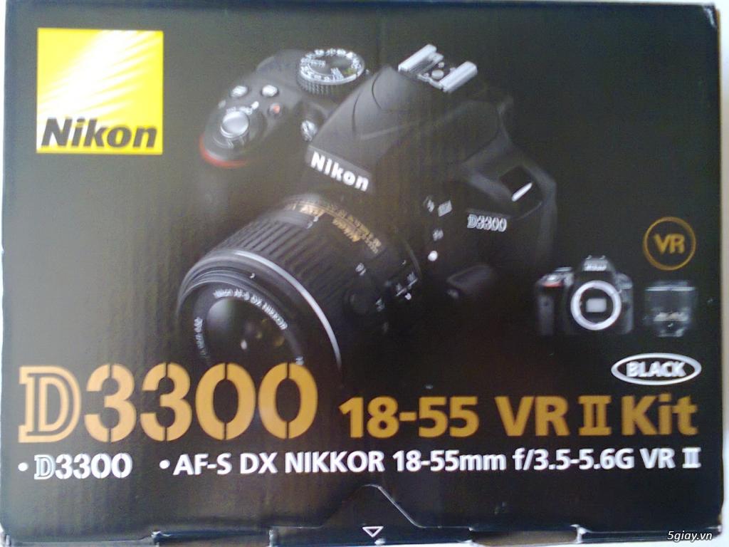 Máy ảnh + Lens kit, hàng xách tay USA - 3