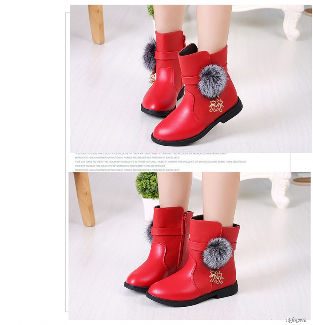 Giày, Boot cổ ngắn dành cho bé - 1