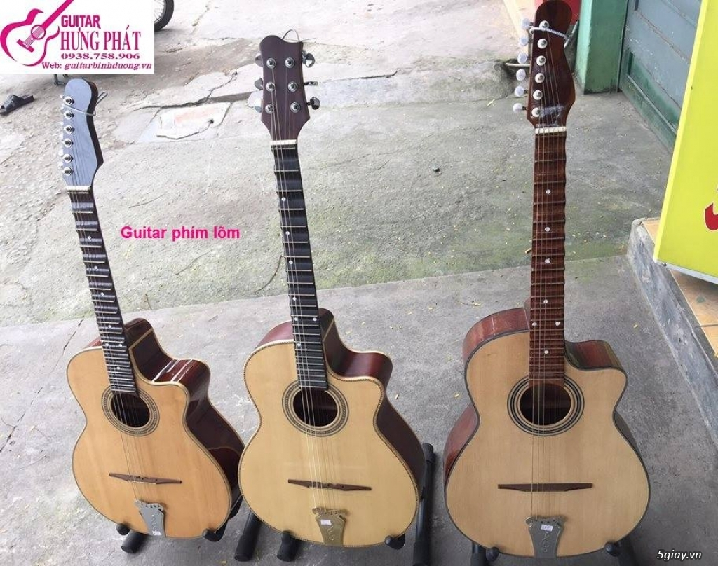 Guitar tân cổ cải lương, guitar phím lõm giá siêu rẻ toàn quốc - 2
