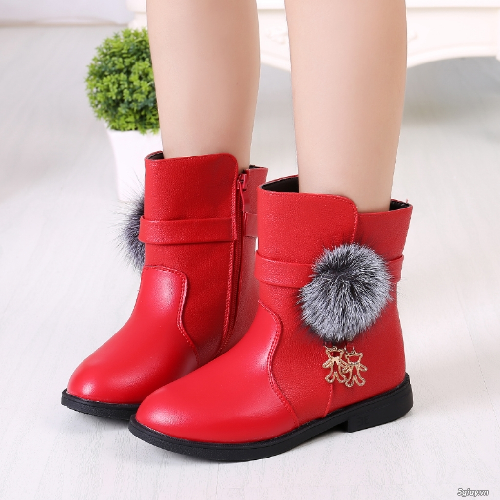Giày, Boot cổ ngắn dành cho bé - 4