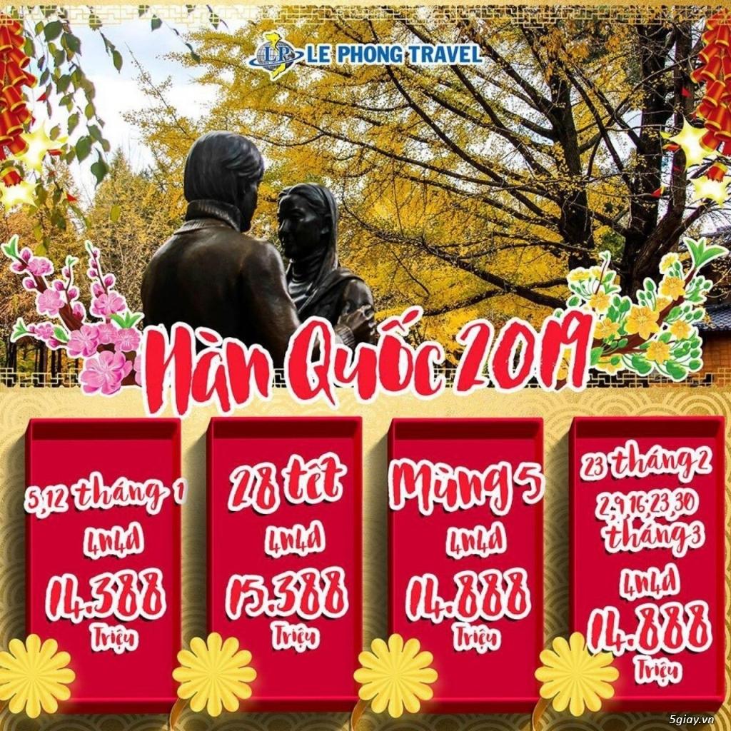 Tour Hàn Quốc 4 ngày 4 đêm- Cùng đón xuân, ngắm hoa trên xứ sở Kim chi
