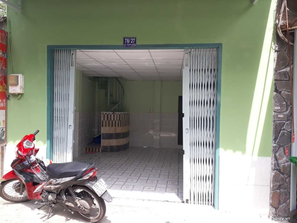 Bán nhà hẻm xe hơi đường Lê Đình Cẩn