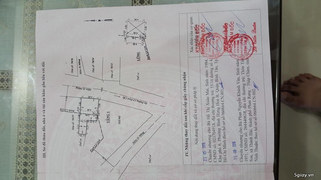 Bán nhà hẻm xe hơi đường Lê Đình Cẩn - 8