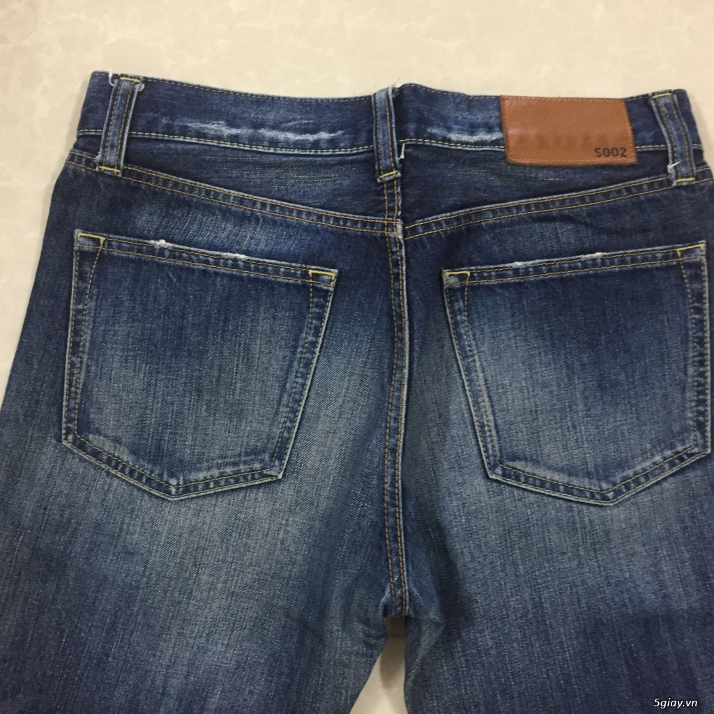 hàng jean si levis uniqlo size 30 - 17
