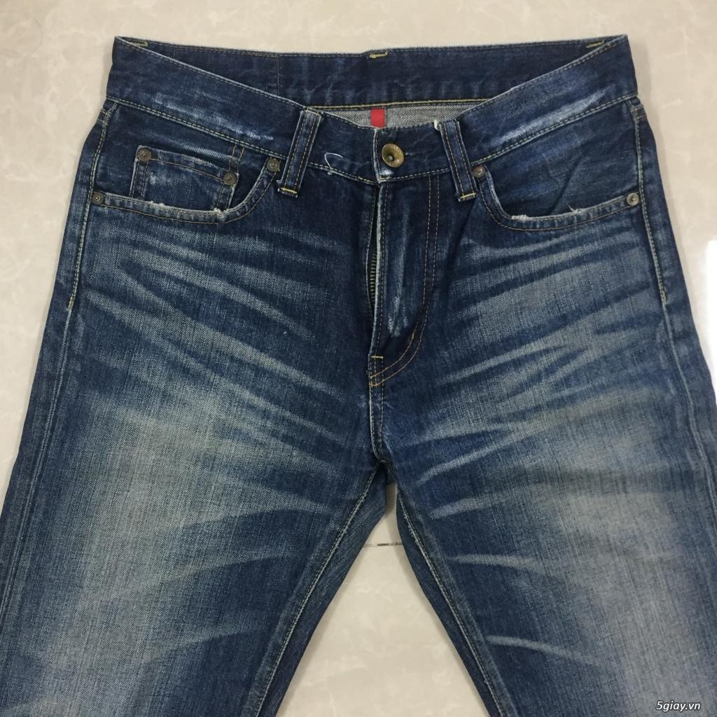 hàng jean si levis uniqlo size 30 - 13