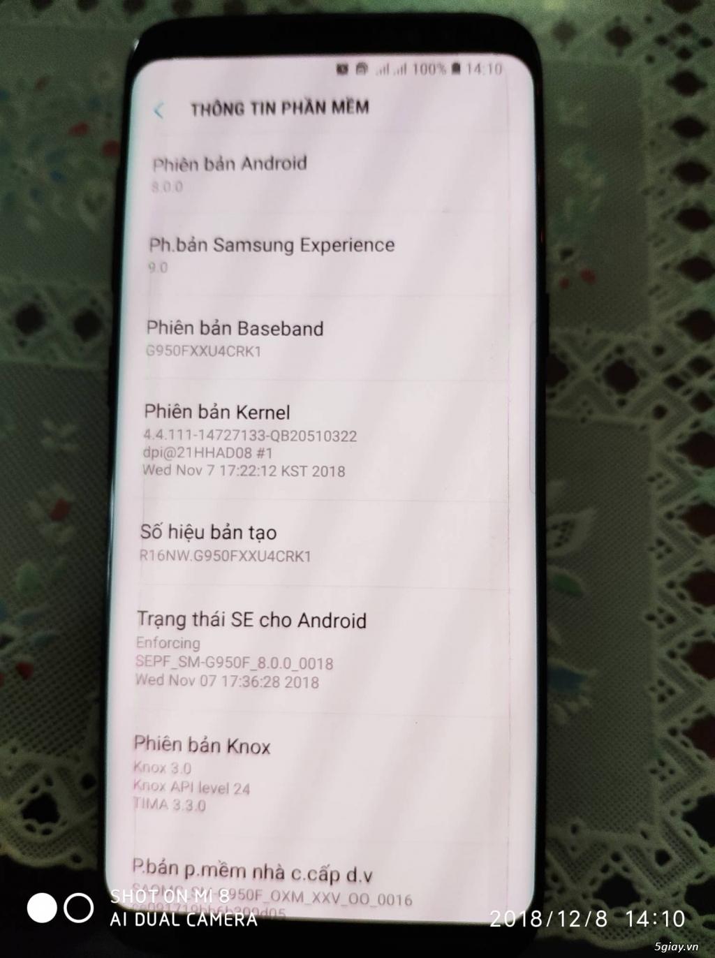 Giá sốc Samsung S8 64Gb hàng Samsung VN,nguyên hộp, chính hãng VNA - 7