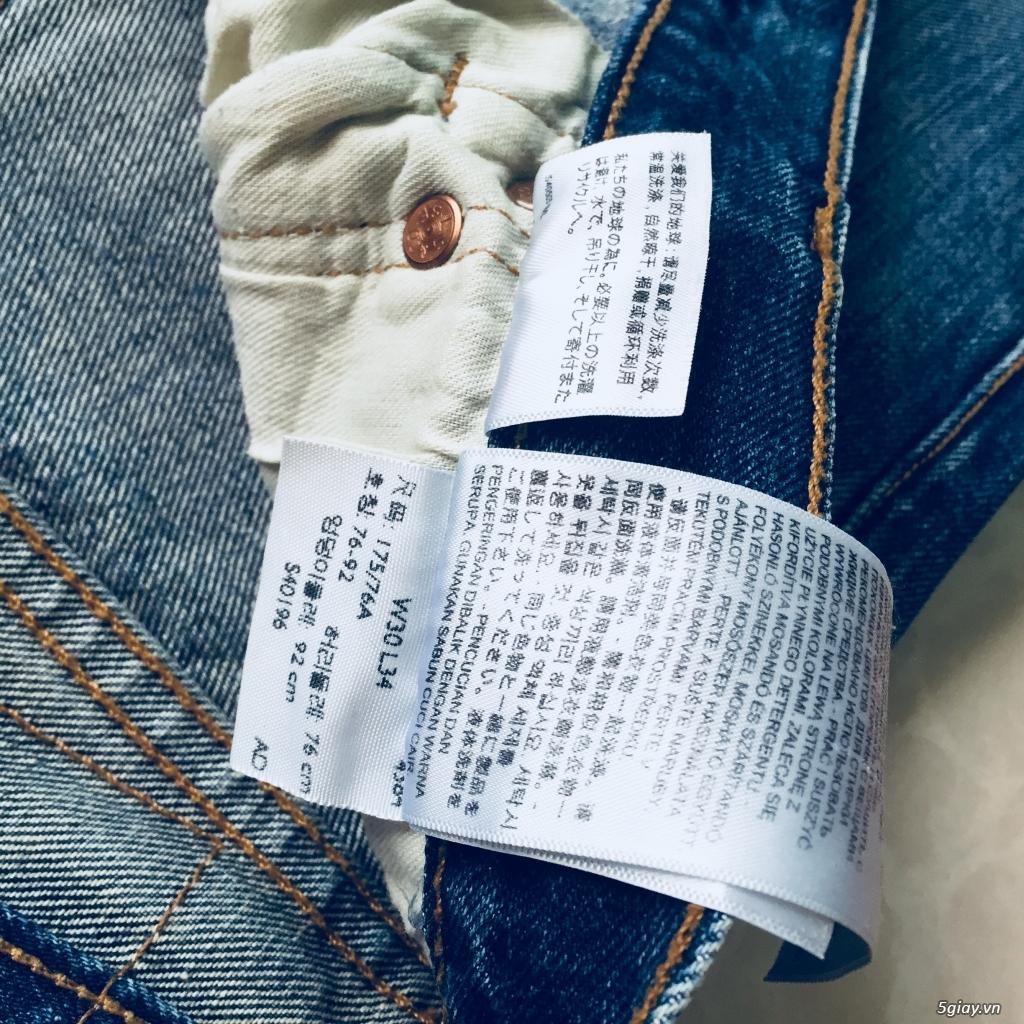 hàng jean si levis uniqlo size 30 - 2