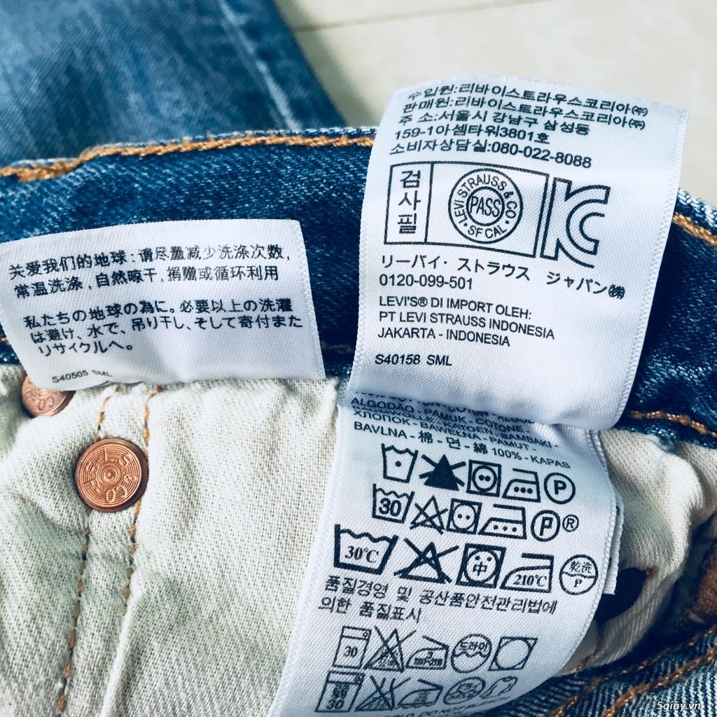 hàng jean si levis uniqlo size 30 - 6
