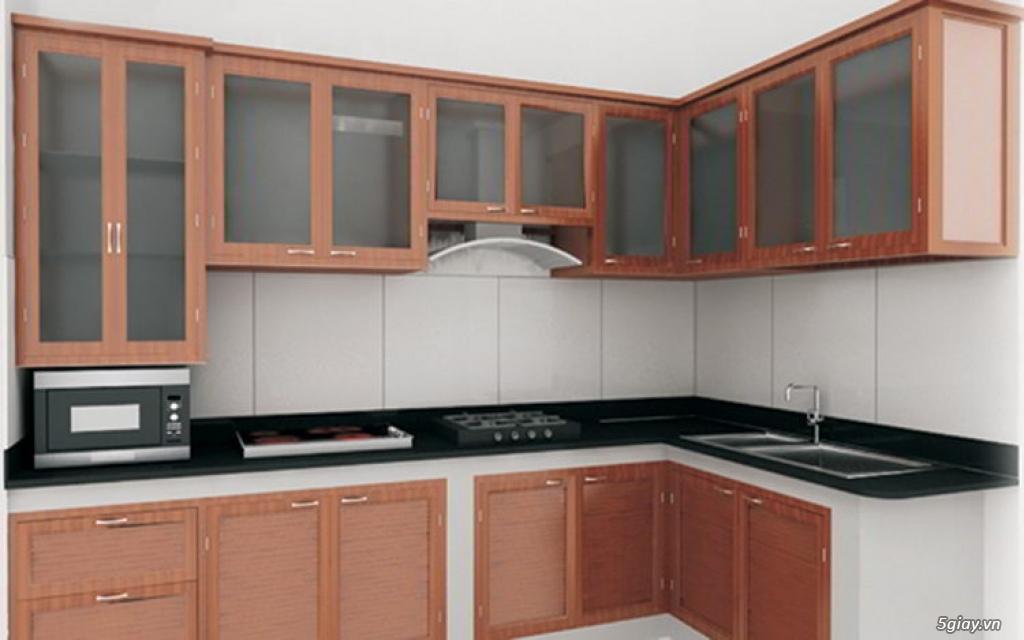 Dịch vụ gia công tủ nhôm, tủ bếp nhôm kính cho gia đình ở tphcm