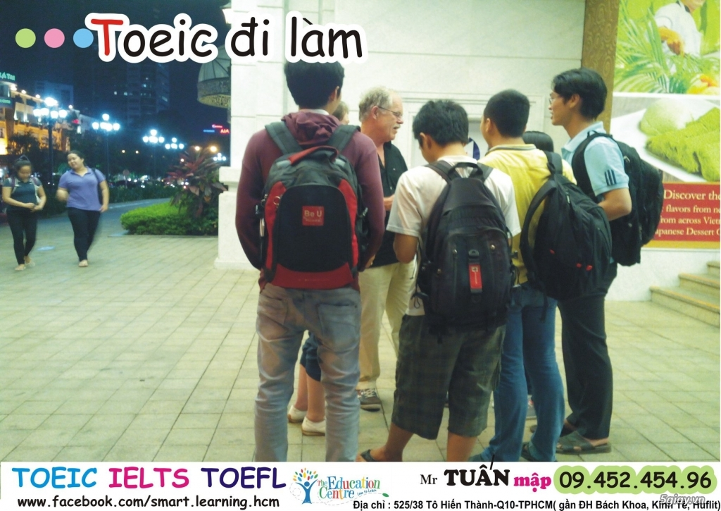 Học TOEIC-IELTS Ở Đâu Tốt, Rẻ. Học Anh Văn Toeic-Ielts Trung Tâm Nào Tốt nhất, Rẻ ở HCM, Sài Gòn - 3