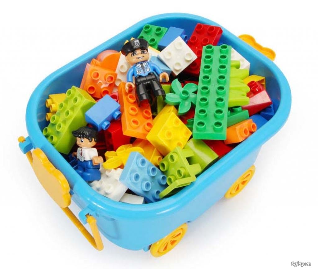 Bộ block Lego lắp ráp nhà 140 chi tiết (size lớn) hàng nhập - 3