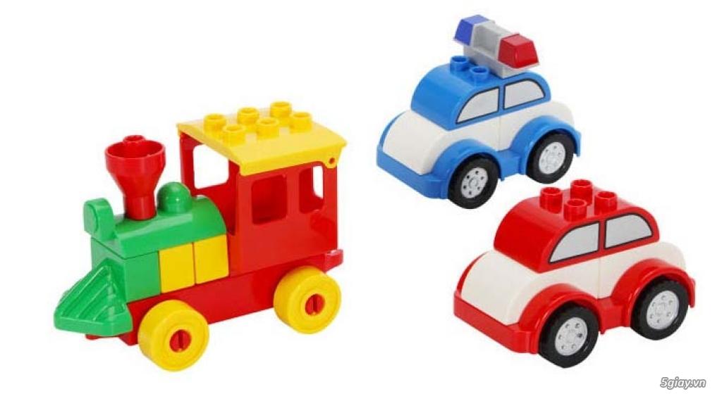 Bộ block Lego lắp ráp nhà 140 chi tiết (size lớn) hàng nhập - 10