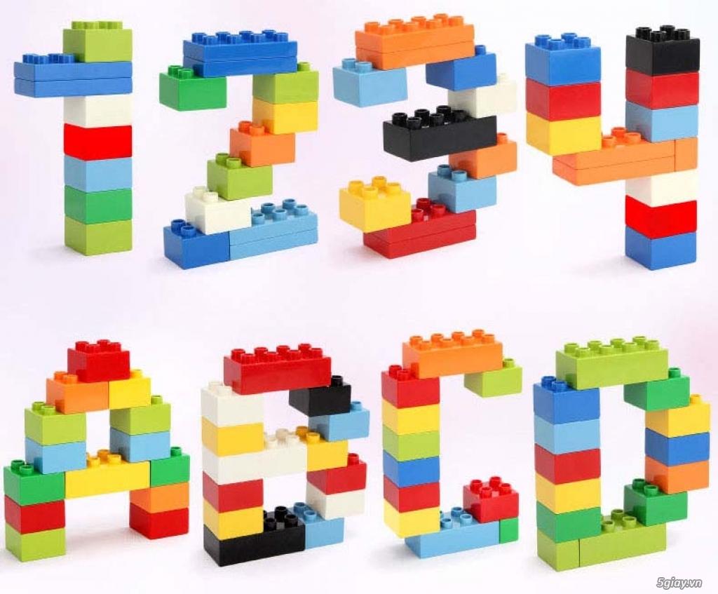 Bộ block Lego lắp ráp nhà 140 chi tiết (size lớn) hàng nhập - 6