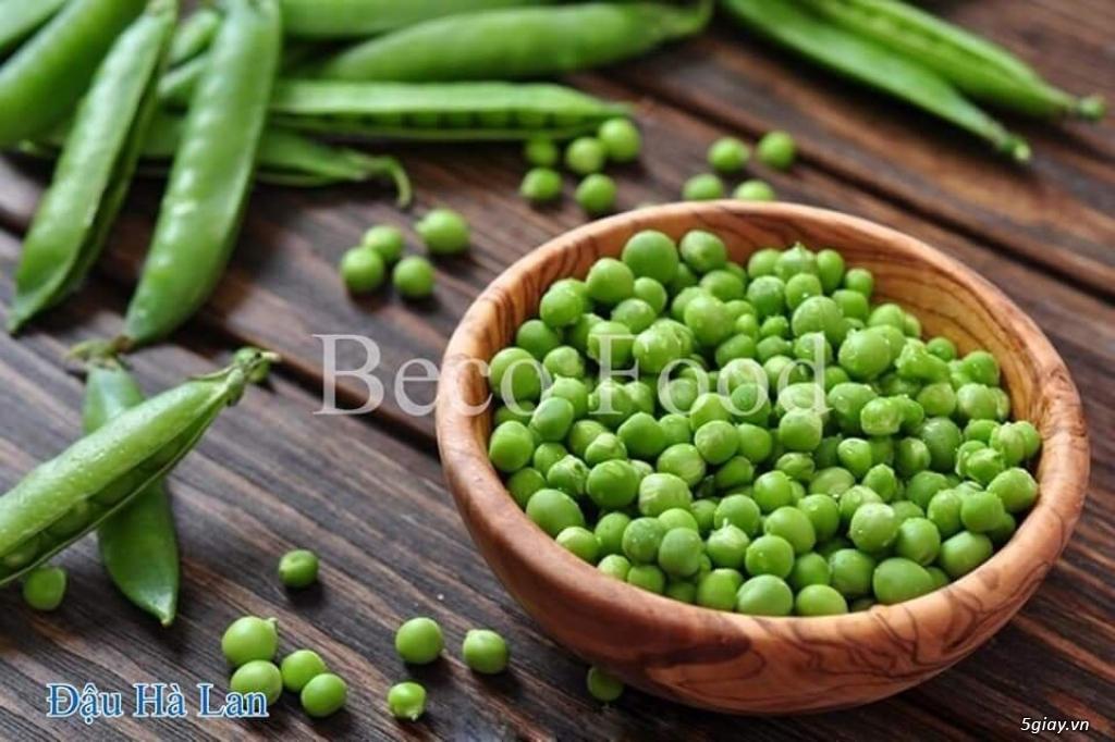 Beco Food cung cấp sỉ, bắp hạt, đạu hà lan và các loại rau củ quả…