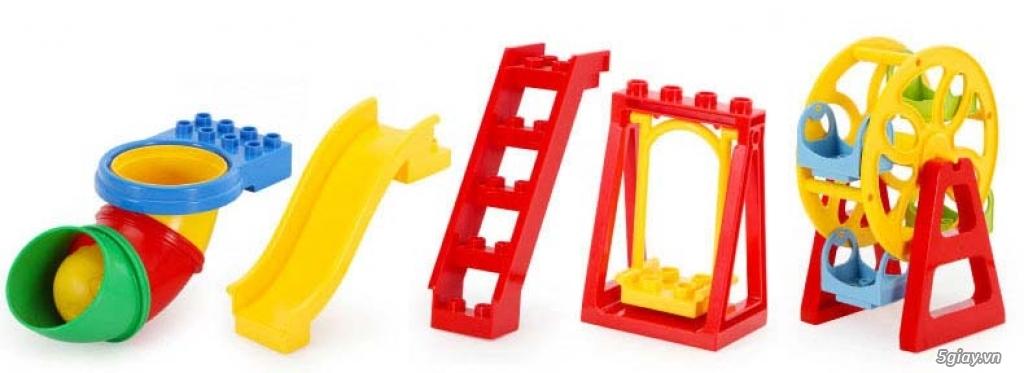 Bộ block Lego lắp ráp nhà 140 chi tiết (size lớn) hàng nhập - 8