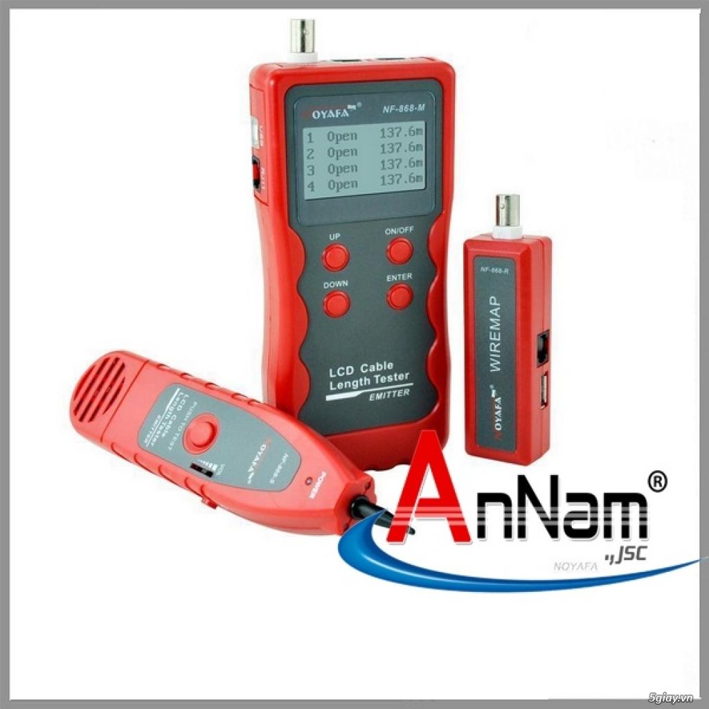 Máy test mạng chính hãng NoYaFa mã NF868 có sẵn hàng tại Annam - 5