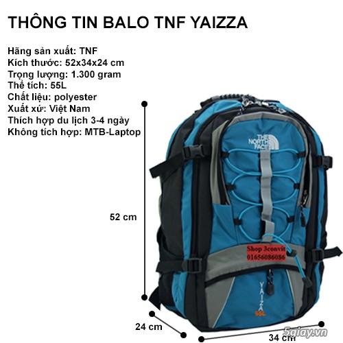 [3CONVIT] Balo du lịch North Face Yaizza 55L End22h00 10/01/2019 - 3