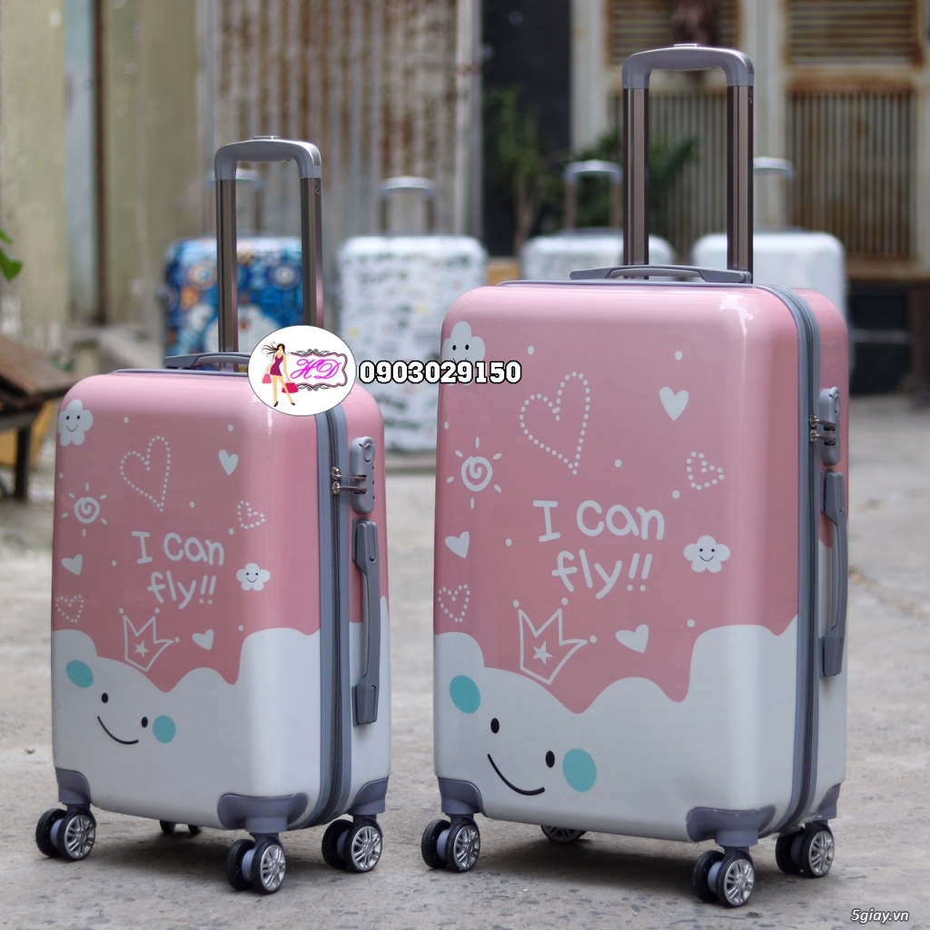 Vali du lịch cặp, vali giá rẻ, vali cho bé yêu - 3