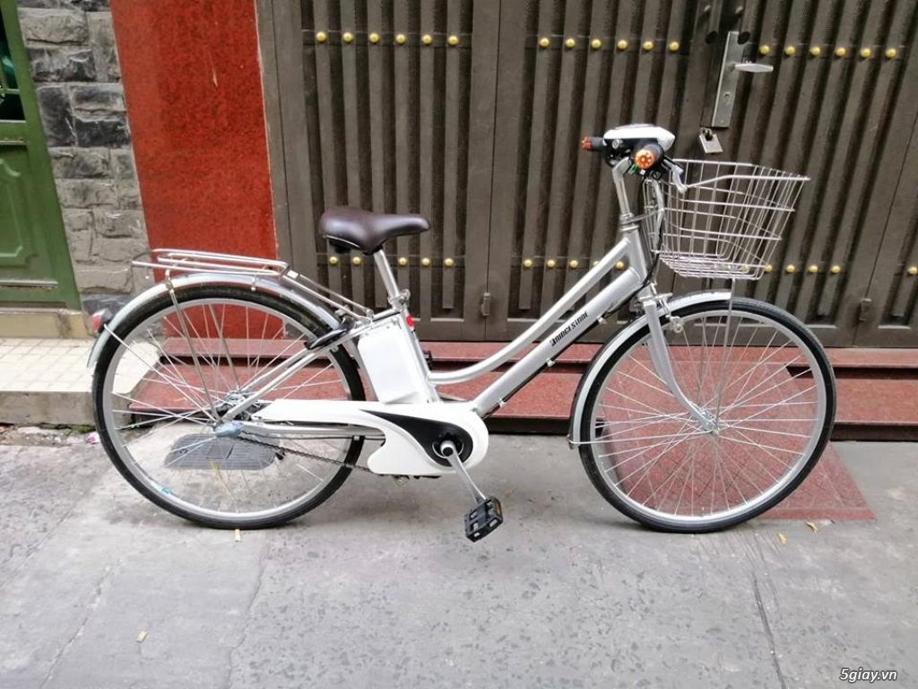 xe đạp điện hàng Nhật giá rẽ : sanyo , yamaha ,Bridgestone ,Hydee - 8