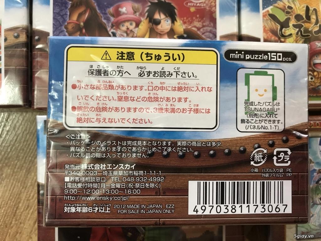 Chỉ có duy nhất 8 bộ xếp hình One Piece, Made in Japan cần bán. - 1