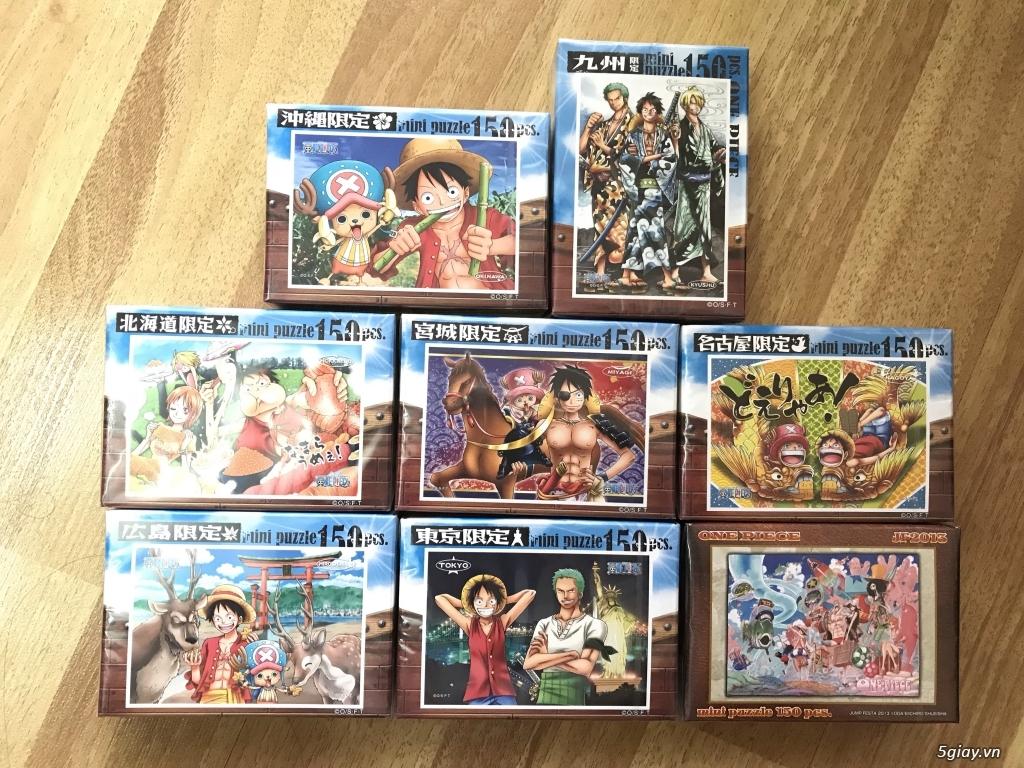 Chỉ có duy nhất 8 bộ xếp hình One Piece, Made in Japan cần bán.