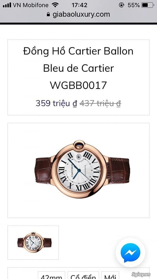 Chuyên đồng hồ Catier,Corum sang trọng Men & Lady model mới nhất 2019 - 31