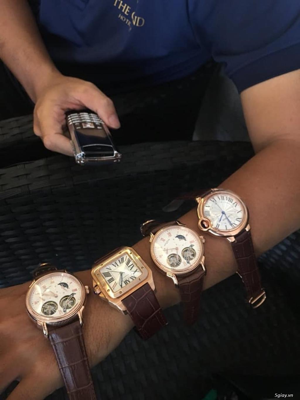 Chuyên đồng hồ Catier,Corum sang trọng Men & Lady model mới nhất 2019 - 22