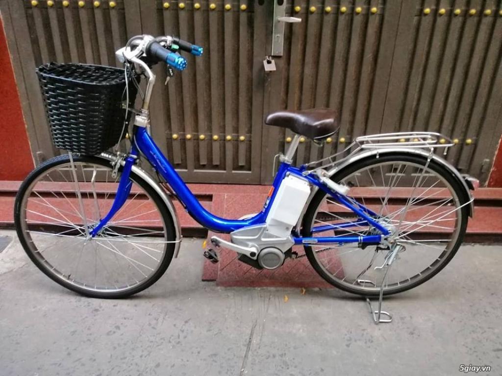 xe đạp điện hàng Nhật giá rẽ : sanyo , yamaha ,Bridgestone ,Hydee - 9