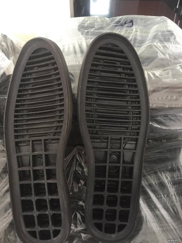 có lo đế giày cao su đen cần thanh lý gấp có số lượng - 2